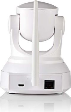 Nedis IP-overvågningskamera | 1280x720 | Panorering og vipning | Hvid, IPCMPT10CWT