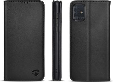 Nedis Wallet Book for Samsung Galaxy A51 | Black, SWB10041BK