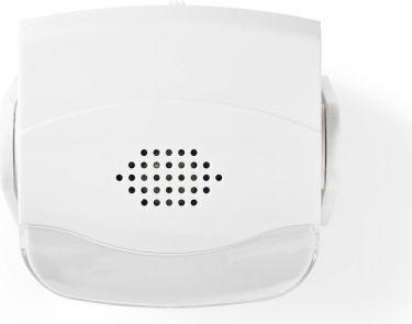 Nedis Door Entry Motion Alarm | Wall or Ceiling Mount | Chime, AMLRMMW40WT