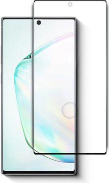 Nedis Skærmbeskytter af glas til Samsung Galaxy Note 10 | Fuld dækning | 3D-buet | Transparent/sort,