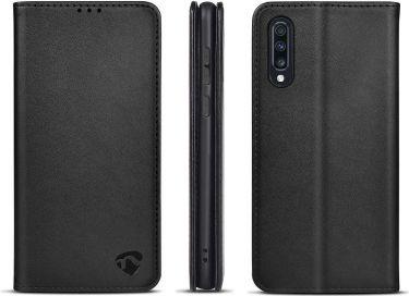 Nedis Lommebogsetui til Samsung Galaxy A70S | Sort, SWB10038BK