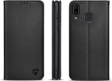 Nedis Wallet Book for Samsung Galaxy M10S | Black, SWB10039BK