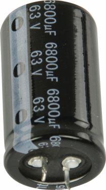 Fixapart Snap-In Electrolytic Capacitor 6800 uF 63 VDC, 6800/63S3050