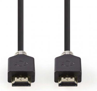 Nedis High Speed HDMI™-kabel med Ethernet | HDMI™-stik - HDMI™-stik | 10 m | Antracit, CVBW34000AT10