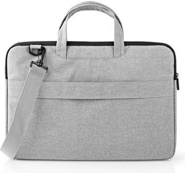 "Nedis Notebook Bag | Shoulder Strap | 8 Storage Pockets | 15"" - 16"" | Grey, NBBG15150GY"