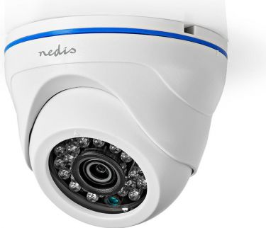 Nedis CCTV Security Camera | Bullet | Full HD | Supports AHD / TVI / CVI and Analogue, 4IN1CDW10WT