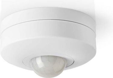 Nedis Motion Detector | 3-Wire Installation | Adjustable Time and Ambient Light Settings, PIRPI30WT