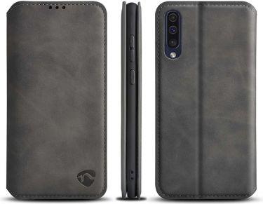 Nedis Soft Wallet Book for Samsung Galaxy A30S / Galaxy A50S | Black, SSW10029BK