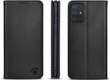 Nedis Wallet Book for Samsung Galaxy A71 | Black, SWB10042BK