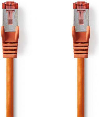Nedis Kat. 6 S/FTP-netværkskabel | RJ45-hanstik | RJ45-hanstik | 3,0 m | Orange, CCGP85221OG30