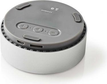 Nedis Bluetooth®-højttaler | 9 W | Metaludformet design | Aluminiumsølv, SPBT1001AL