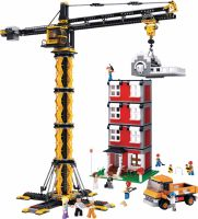 Sluban Building Blocks Town Serie Tower Crane, M38-B0555