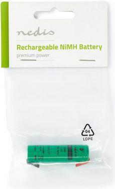 Nedis Nikkel-metalhydrid-batteri | 1,2 V | 1100 mAh | Loddetilslutning, BANM1155110SC