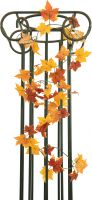 Udsmykning & Dekorationer, Europalms Autumn garland, artificial, yellow, 180cm
