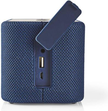 Nedis Bluetooth®-højttaler | 2 x 45 W | True Wireless Stereo (TWS) | Vandtæt | Blå, SPBT2003BU