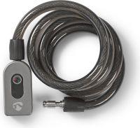 Nedis Bluetooth-cykellås | Nøglefri betjening, LOCKBTB10BK