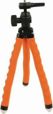 Camlink Fleksibel Stativ 27.5 cm 1 kg Sort/Orange, CL-TP250