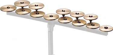 Zildjian High Octave Crotales - 13-Notes, Crotales Octave. High (A