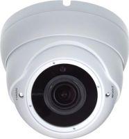"<span class=""c10"">Velleman -</span> HD-TVI/CVI/AHD domekamera 2MP, Zoom, 30m IR, Hvid (IP66)"