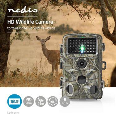 Nedis HD Wildlife Camera | 16 MP | 5 MP CMOS, WCAM150GN