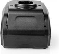 Nedis Elværktøjsoplader | Batteriudgang 7,2-20 V | Ryobi | NiCd - NiMH - Li-Ion, PTCM012FBK