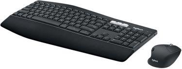 Logitech Wireless Mouse and Keyboard Combi-Pack Office USB US International Black, 920-008226