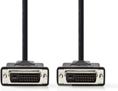 Nedis DVI Cable | DVI-D 24+1-Pin Male - DVI-D 24+1-Pin Male | 3.0 m | Black, CCGP32000BK30