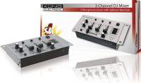 König DJ Mixer 3-Channel, KN-DJMIXER10