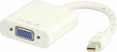 Valueline Mini Displayport Kabel Mini DisplayPort Han - VGA Hun 0.20 m Hvid, VLMB37850W02