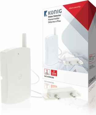 König Vanddetektor - Kompatibel med smarthome SAS-ALARM3xx, SAS-ASWA300