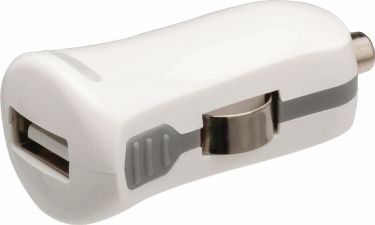 Valueline Biloplader 1-Udgang 2.1 A USB Hvid, VLMB11950W