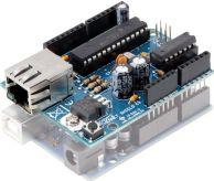 "<span class=""c10"">Velleman IO -</span> VMA04 Ethernet shield til Arduino (færdigsamlet)"