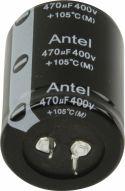 Komponenter, Fixapart Snap-In Electrolytic Capacitor 470 uF 400 VDC, 470/400S3545