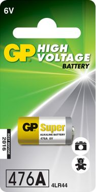 4LR44 6V alkaline battery - 1 piece on a blister