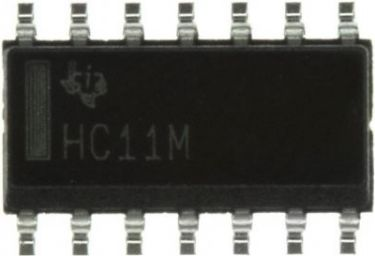 74HC11 Triple 3-input AND gate SMD