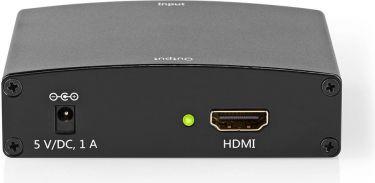 Nedis VGA-til-HDMI™-Omformer | 1-Veis – VGA + 2 stk RCA (L/R)-Innganger | HDMI™-Utgang, VCON3454AT