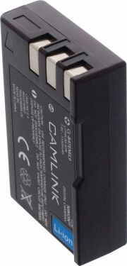 Camlink Rechargeable Lithium-Ion Camera Battery 7.4 V 1350 mAh, CL-BATENEL9