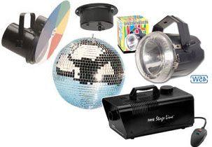 Komplet Begynder Disco Lyspakke