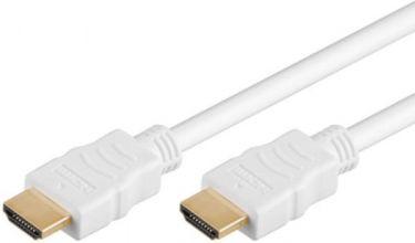 "<span class=""c9"">GOOBAY -</span> HighSpeed HDMI 1.4 kabel 2 x HDMI han m.E, Hvid (1,5m)"