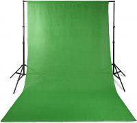 Nedis Photo Studio Backdrop | 2.95 x 2.95 m | Green, BDRP33GN
