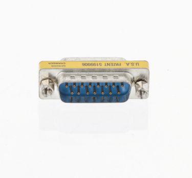 Valueline Seriel Adapter D-SUB 15-Pin Han - D-SUB 15-Pin Han Metal, VLCP52814M