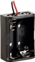 Batterier og tilbehør, Batteriholder til 2 x N bat. (m. ledninger)