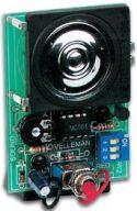 """Byggesæt og moduler, <span class=""""c10"""">Velleman -</span> MK113 Sirene"""