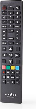 Nedis Universalfjernbetjening | Pc-programmerbar | Styrer 1 enhed, TVRC1110BK