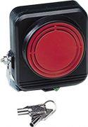 Alarmudstyr, Sirene m. backup batteri 12Vdc / 290mA (120dB)