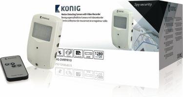 König Detektor Skjult Kamera, SAS-DVRPIR10
