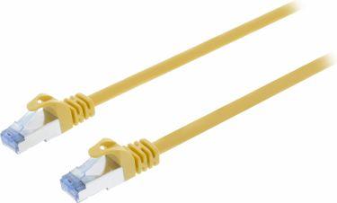 Valueline CAT6a S/FTP Netværkskabel RJ45 (8P8C) Han - RJ45 (8P8C) Han 5.00 m Gul, VLCP85320Y50