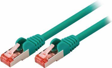 Valueline Cat6 S / Ftp Netværkskabel RJ45 (8P8C) Han - RJ45 (8P8C) Han 7.50 m Grøn, VLCP85221G75