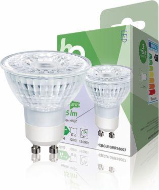 HQ LED Pære Gu10 PAR16 4.8 W 345 lm 2700 K, HQLGU10MR16007