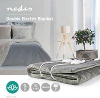 Nedis Elektrisk tæppe | 160 x 140 cm | 9 varmeindstillinger | Kontrollampe | Overophedningsbeskyttel